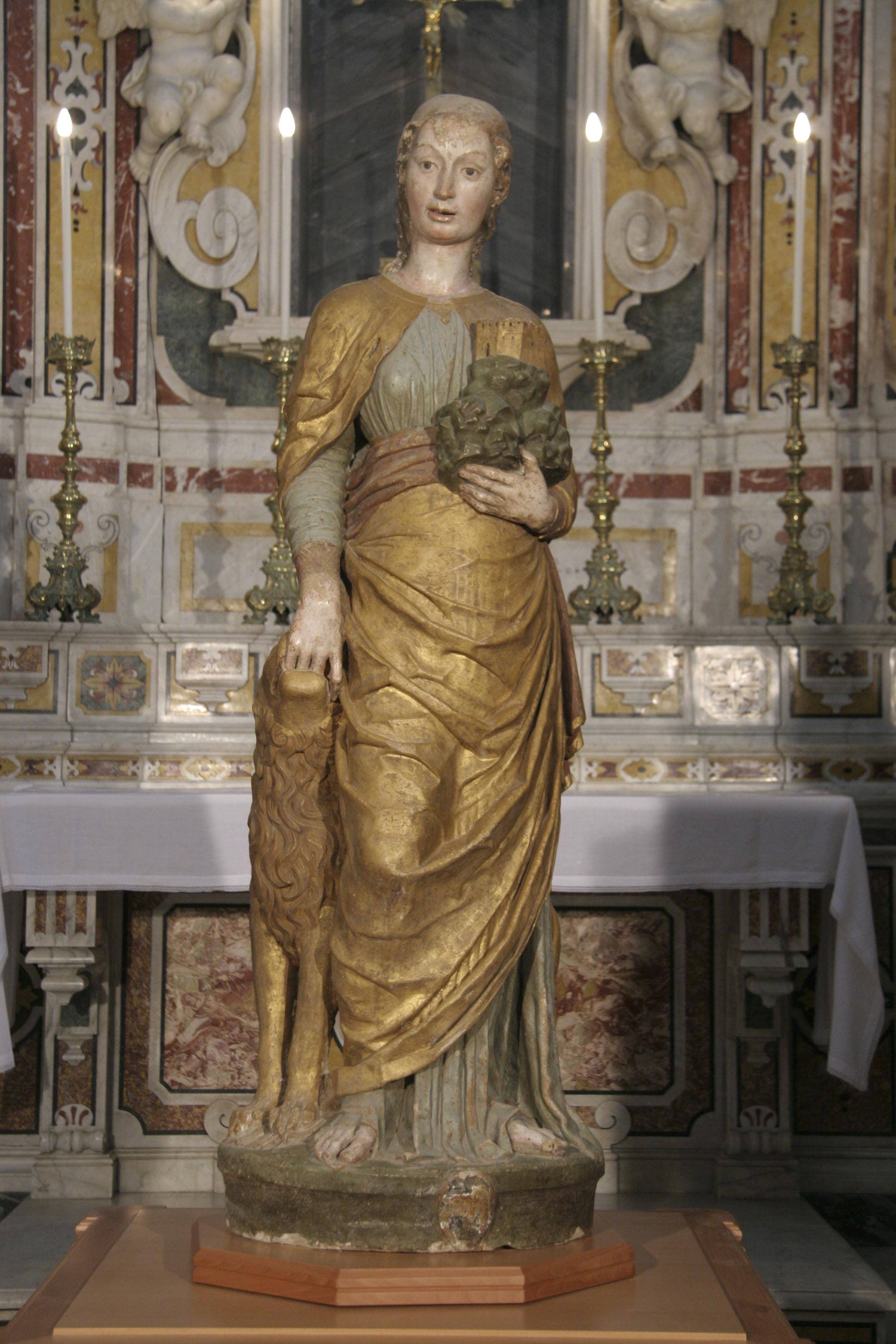Cattedrale di Irsina - Statua di Sant'Eufemia del Mantegna