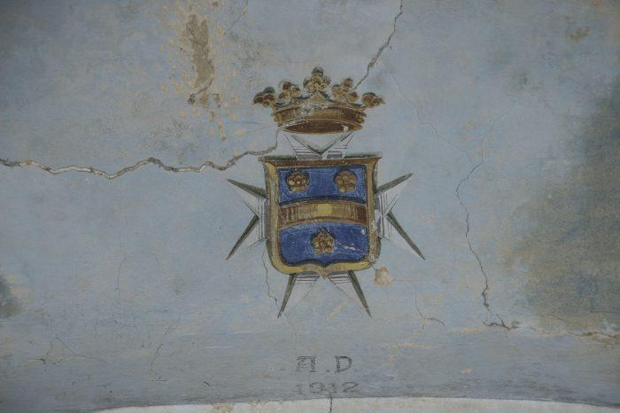 Sito archeologico di monte Irsi - Particolare dellinterno chiesa