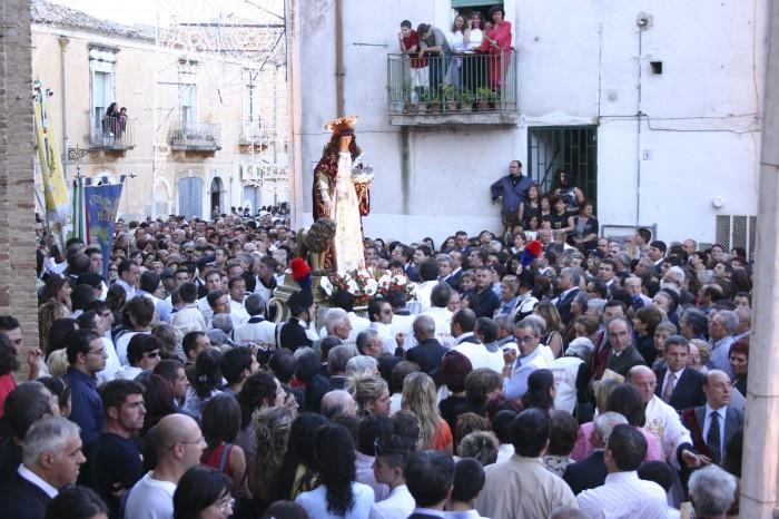 Festa di Sant'Eufemia - Processione in Largo Cattedrale