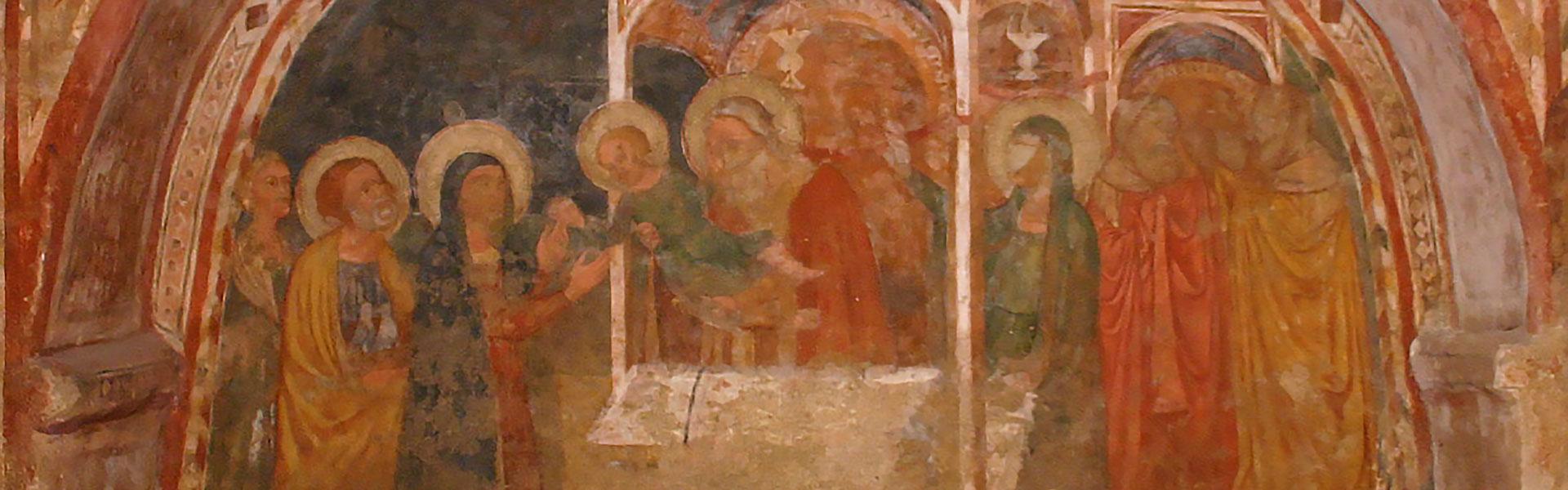 Gli affreschi della cripta di San Francesco