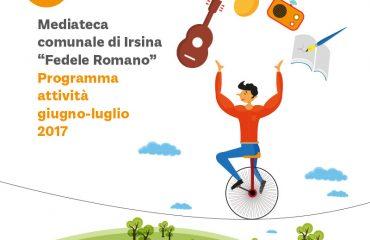 Mediateca Irsina FEDRO - Attività Giugno Luglio